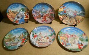 Bradford Exchange Plate Collection Walt Disney World 25th Anniversary