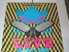 Hawkwind Vinyl LP Album Hawkwind Live '79 Dave Brock *EXC Copy* BRON527 A1/B1