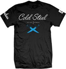 Cold Steel Cursive Black Tee Large  TJ3