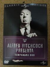 DVD Alfred Hitchcock Presenta,Primera Temporada,Serie TV,6 dvds