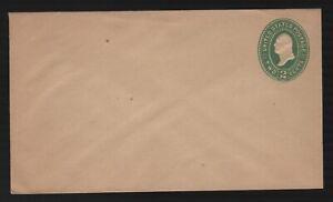 US Postal Stationery U317 Amber Manila VF Unused