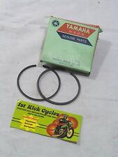 NOS Yamaha 1965- 1967 YDS5 YM2C Piston Rings .75 156-11610-30
