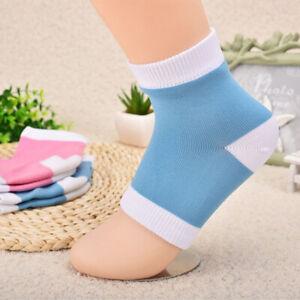 Pair of Silicone Moisturising Gel Heel Socks Crack Skin Care Foot Guard