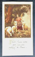 Immagine Votiva Sainte Jeanne Arco Souvenir Del Duca Morny 21 Ottobre 1940