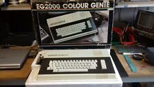 VERY RARE VINTAGE EACA COLOR GENIE EG2000 COMPUTER SYSTEM (VGC BOXED)