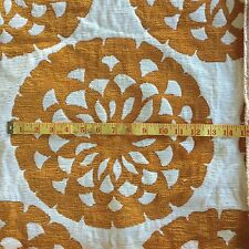UPHOLSTERY Fabric MONA ORANGE 4 MTS X 140 cm CHAIR LOUNGE CUSHIONS BAGS