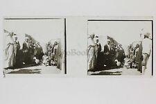 Egypte Afrique Plaque verre Positif N° 40 Stéréo Stereoview Vintage