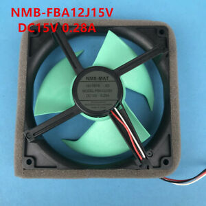 The new NMB-FBA12J15V is suitable for Sharp refrigerator cooling fan DC15V 0.28A