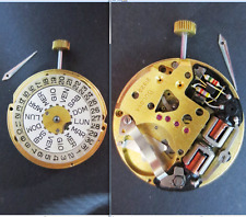bulova accutron 2182 g movimento movement old wrist watch for parts tige crown