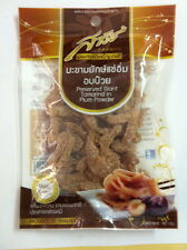 PRESERVED GIANT TAMARIND IN PLUM POWDER  50g PERFECT SOUR-SWEET SNACK