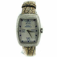 DUBEY & SCHALDENBRAND 516 2.5 CT DIAMONDS SILVER DIAL AUTOMATIC WOMENS WATCH
