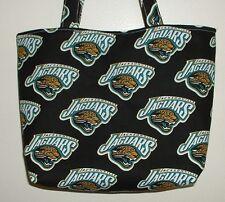 Handmade NFL Football Jacksonville Jaguars Tote Purse Bag