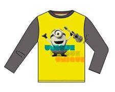 T-shirts, débardeurs et chemises jaune à manches longues pour garçon de 2 à 16 ans