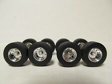 4 DCP 1/64 SCALE  KENWORTH, PETERBILT, INTERNATIONAL SUPER SINGLES TIRES/ WHEELS