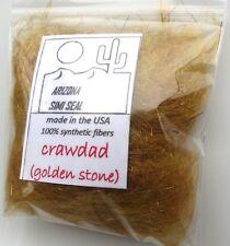 CRAWDAD (Golden Stone) Arizona Simi Seal Dubbing (fly tying)