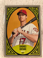 SHOHEI OHTANI CALIFORNIA ANGELS 2019 TOPPS HERITAGE NEW AGE PERFORMER