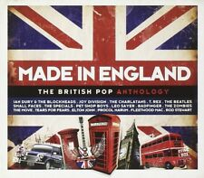 MADE IN ENGLAND - BRITISH POP ANTHOLOGY - JOY DIVISION, BILLY BRAGG,  3 CD NEW+