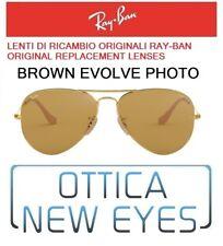 LENTI di Ricambio RAYBAN AVIATOR 3025 4I Replacement Lenses evolve brown photo