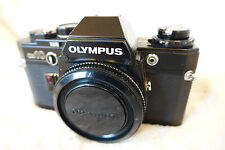 Olympus OM10 Quartz ALL BLACK STUNNING SEE PICTURES FULLY WORKING