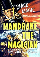 MANDRAKE THE MAGICIAN - 12 CHAPTER SERIAL - OFFICIAL STUDIO RELEASE - DVD - NEW!