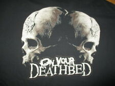 Hard Core Metal Band On Your Deathbed Concert Tour (2Xl) T-Shirt