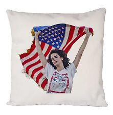 Lana del rey Flag Vintage Funda De Cojín Funda De Almohada Moda Regalo Ideal presentes