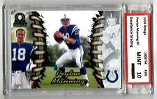 New listing 1998 Pacific Omega Peyton Manning Rookie Excellence Grading Mint 10 #101 Colts