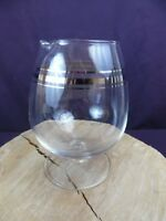 Vintage Dorothy Thorpe Roly Poly Silver Rim Mixer Round With Pour Spout
