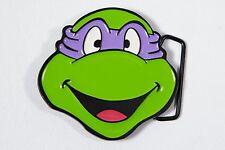 Teenage Mutant Ninja Turtles DONATELLO Purple Mask Metal/Enamel BELT BUCKLE 2009