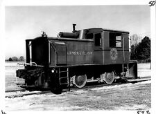 1974 Laurinburg & Southern Train #108 MGT Engine Yard Plant 5x7 Photo X2200S J