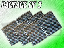 C36204 CABIN AIR FILTER FOR BMW 535i 550i 640i 650i 740i 750i M5 M6 PACKAGE OF 3
