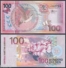 SURINAM SURINAME 100 Gulden 2000 Pick 149  SC  / UNC