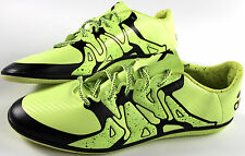 ADIDAS X 15.3 indoor soccer shoes- 13- NEW- Neon Yellow athletic sneakers-
