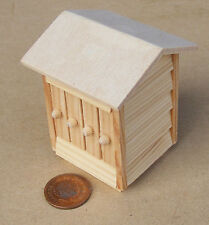 1:12 Scale Natural Finish Wooden Bee Hive Tumdee Dolls House Garden Accessory T1