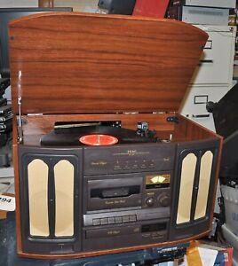 TEAC MODEL GF-200 AM/FM CASSETTE RECORD PLAYER & CD PLAYER CD NOT WORKING