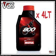 Olio Motore Moto Motul 800 2T Off Road Factory Line 100% Sintetico 4 litri 4lt