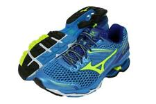 New Men's Mizuno Wave Creation 17 Running Shoes Size 9 Blue/Yellow J1GC151847