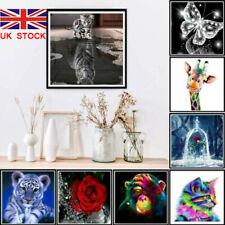 5D Diamond Painting Embroidery Cross Craft Stitch Art Kit Wild Animal Home