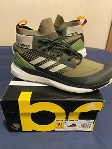 Adidas Terrex Free Hiker GTX Gore-Tex Green G26537 NEW Men's 9.5