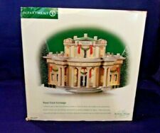 "Dept. 56 Dickens Village Series ""Royal Stock Exchange"" #56.5848 Nib"