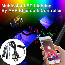 Addmotor LED RGB Light Stripe APP Phone Bluetooth Music Controller In-Car Kit