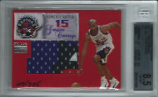 VINCE CARTER 1999-00 SKYBOX PREMIUM GENUINE COVERAGE 4 COLORED PATCH #109/355