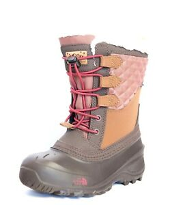 North Face Boots Youth Shellista Lace iii Tagumi Brown $75