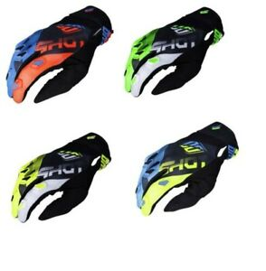 Shot Motorcycle Bike Motorcross Enduro Racing Devo Ultimate Youth Gloves