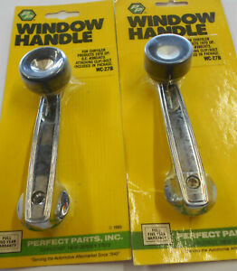 Perfect Parts Window Crank Handle(s) 1960-77 Dodge Chrysler & Plymouth Vehicles