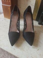 Hight heels Black Shoes Size  uk 5 Next