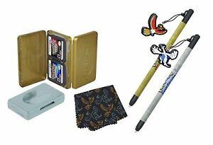 Nintendo 3DS DSi DS Lite POKEMON HEART GOLD & SOUL SILVER Stylus & Case Kit NEW
