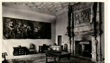 FOUNTAINS HALL, YORKSHIRE -  THE CHAPEL ROOM  B&W  POSTCARD
