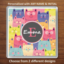 Personalised CAT Drink Coaster - Ideal Birthday or Xmas Gift for Cat Lovers
