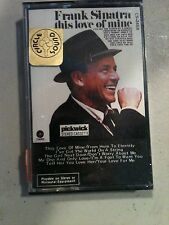 "Frank Sinatra ""this love of mine"" CASSETTE"